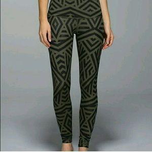 Lululemon tribal print leggings